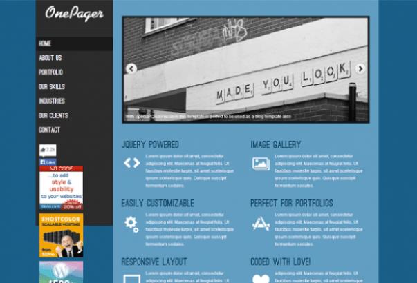 Temas 28 Parallax WordPress: Una colección de las primas y los temas ...