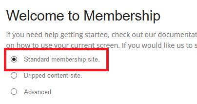 Keanggotaan Plugin-pilihan tipe-Site