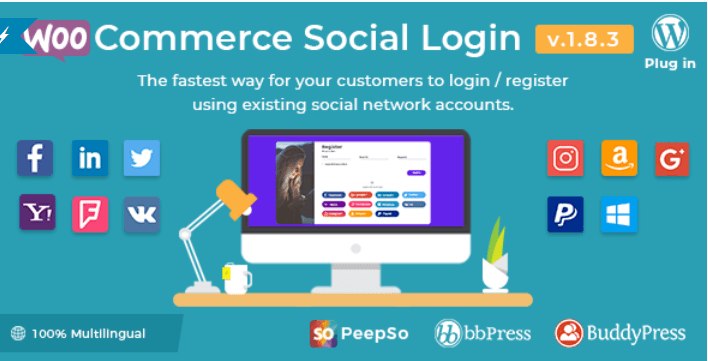 comment booster un réseau social avec le plugin WordPress BuddyPress - Woocommerce social login wordpress plugin