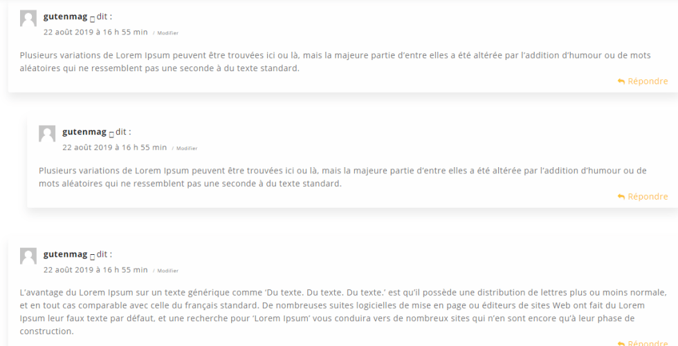 Comment deplacer commentaires article vers autre wordpress