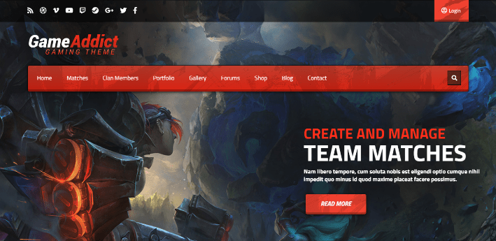 Game Addict 10 Themes Wordpress Site Web Jeux Video