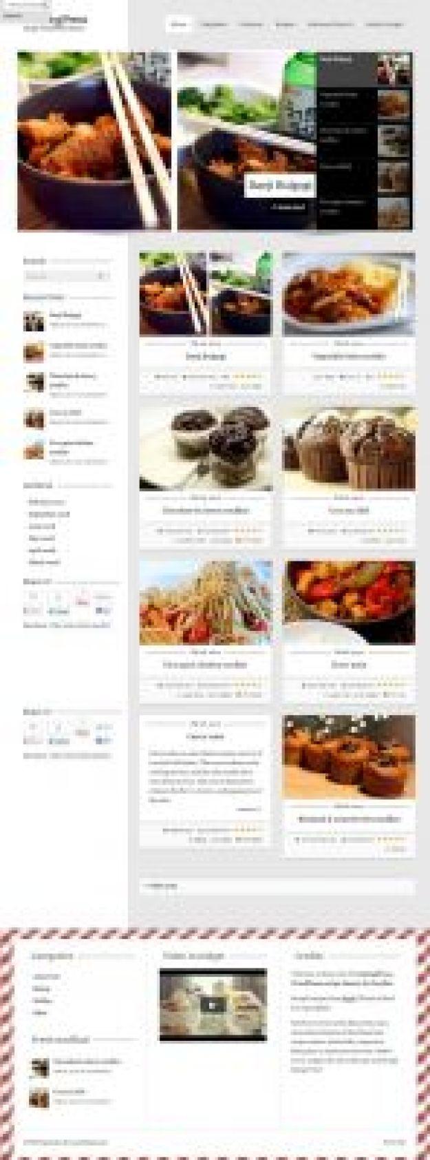 10 Th Mes Wordpress Pour Cr Er Un Blog De Cuisine