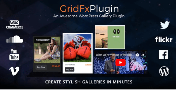 Grid fx plugin wordpress portfolio