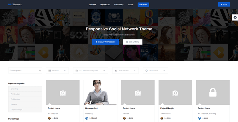 Nrgnetwork themes wordpress creer reseau social buddypress