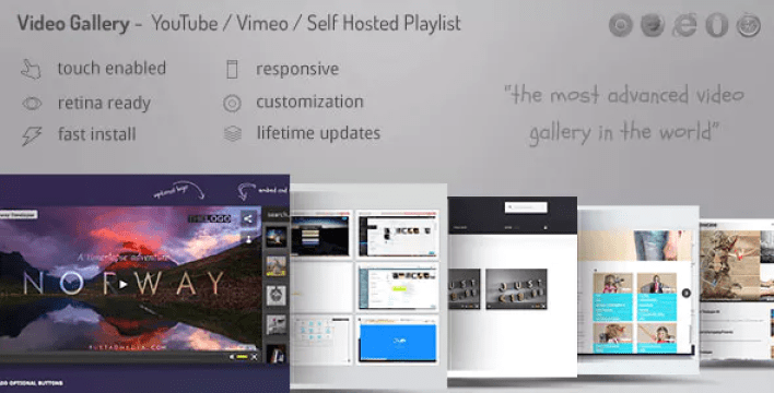 Video gallery plugin wordpress portfolio