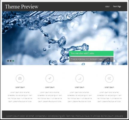5 temas de WordPress gratuitos y de pago Portofolio | BlogPasCher