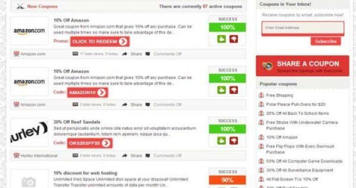 6 WordPress temas para crear cupones de descuento sitio | BlogPasCher