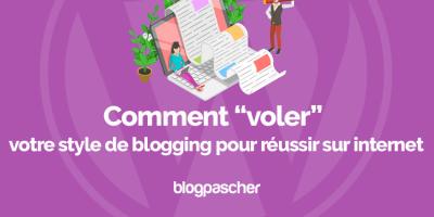 Comment Voler Style Blogging Reussir Internet