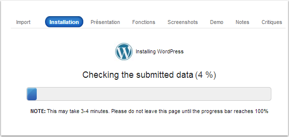 installation-de-wordpress-en-cours