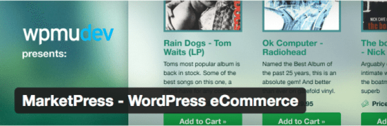 WordPress ปลั๊กอินสำหรับ MarketPress - อีคอมเมิร์ซ