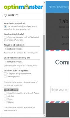 option-d'affichage