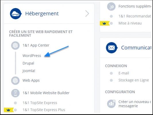 chọn-the-ứng dụng WordPress