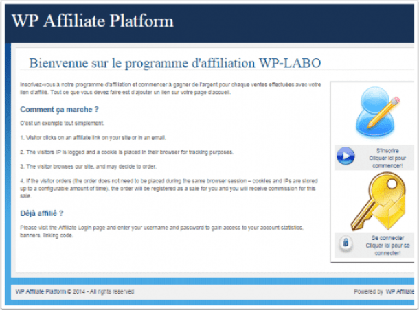 wp-affiliate-plateform-accueil-du-programme