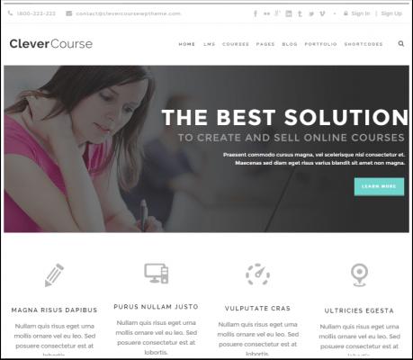 10 temas de WordPress para escuelas y universidades   BlogPasCher