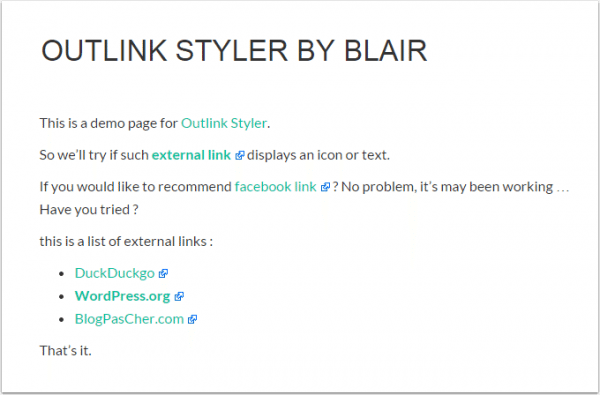 outlink-demo-page
