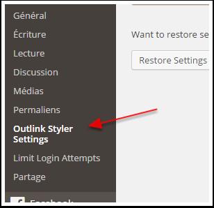 outlink-styler