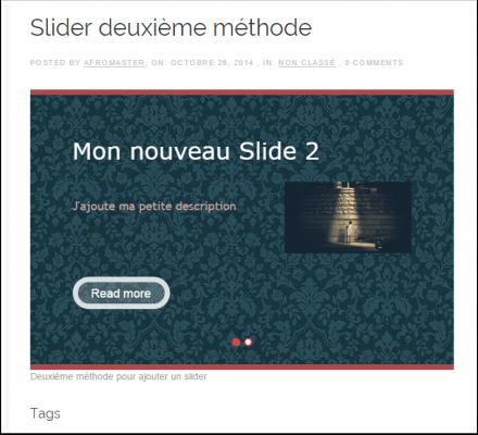 Cómo crear un slider con efecto de paralaje en WordPress | BlogPasCher