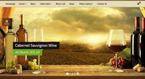 Agritourismo-тема-WordPress создать сайт-фермер-винно-электронную коммерция