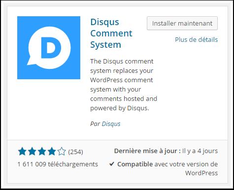 disqus-commentaire-system