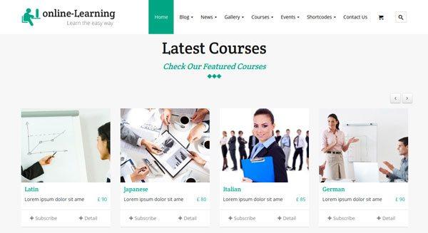 iKnow Education theme wordpress vendre cours formation en ligne