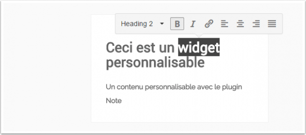 widget-personnalisable-wordpress
