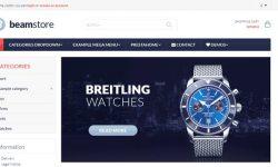 BeamStore-PrestaShop Tema-Create-a-web-site - e-Commerce