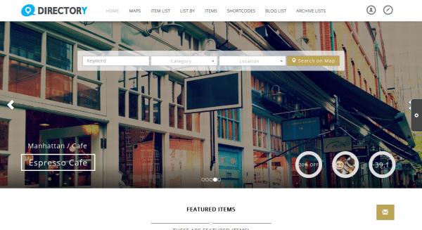 Javo Directory : un thème WordPress pour créer un annuaire