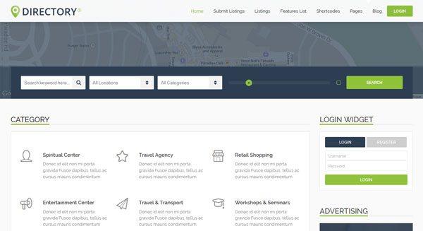 Directorys: Un tema de WordPress para crear un directorio | BlogPasCher