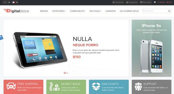 Тема Leo Digital Prestashop для создания магазина высококачественных продуктов
