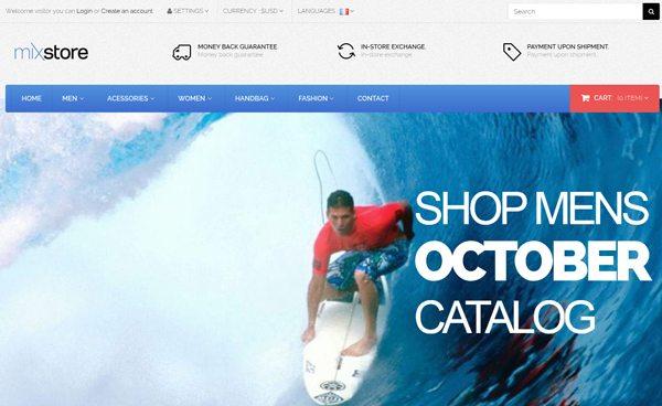 MixMobile Prestashop Site e Commerce