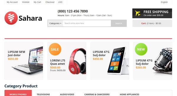 PrestaShop Tema-Sahara-Sign-site-web-eCommerce