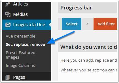 introduzir-the-menu de set-replace-remover
