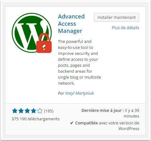 advanced-access-manager-tableau-de-bord