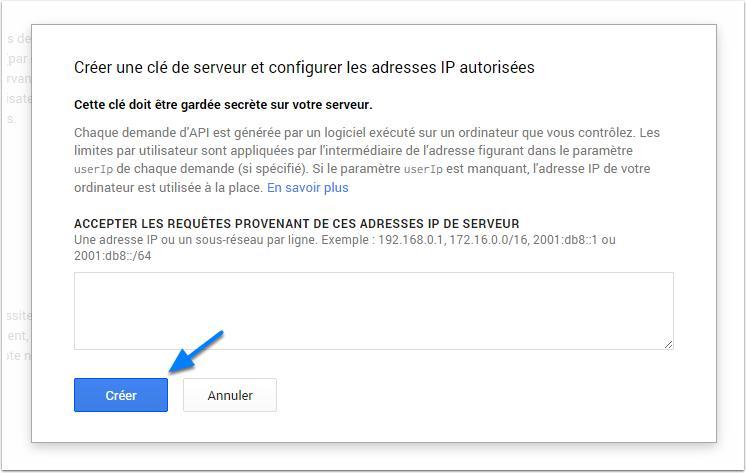 добавить к серверной IP-adressses