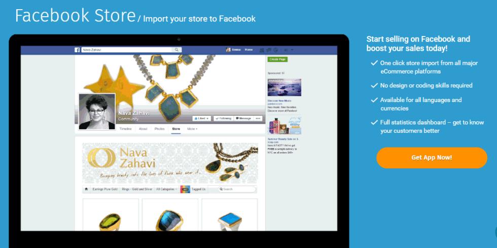 facebook store app