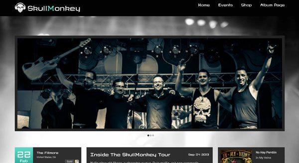Rock Band Theme Creer Blog Wordpress Musique Musicien