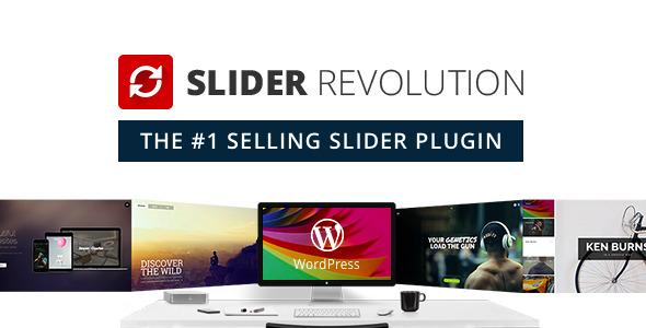 Slider Revolution Wordpress Plugin Diaporama