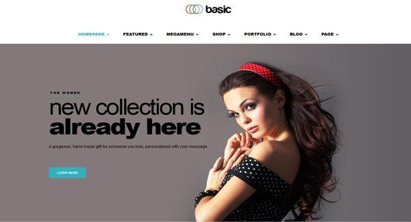 Básico: Un tema de WordPress para crear un sitio de comercio ...