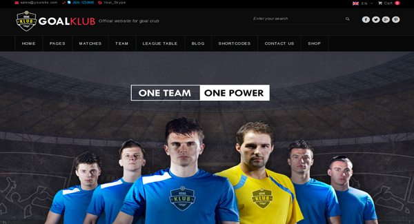 Goal Club WordPress-theme-for-website-of-Club de Football