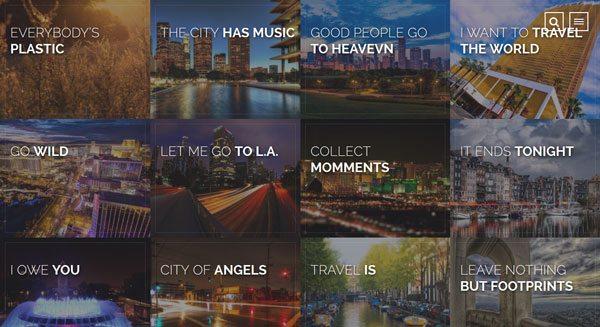 Travelogue : un thème WordPress pour créer un blog de voyage