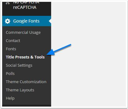 Titel-Preset-google-font