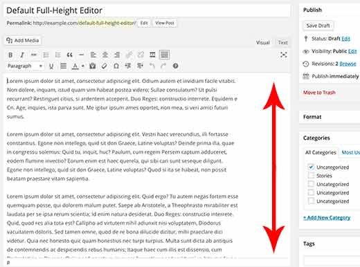 Altura-editor-visual-wordpress