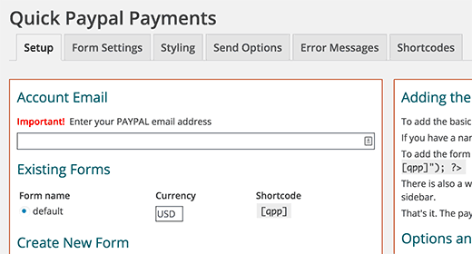 quick-paypal-payments