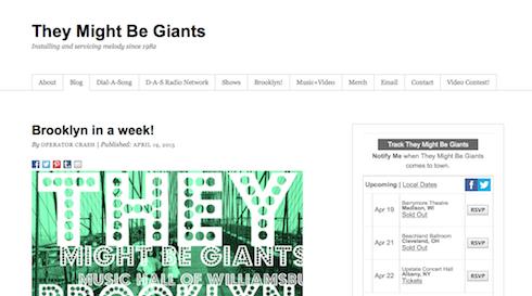 Come creare un sito web per una rock band con wordpress - Diversi tipi di musica ...