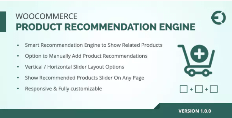 Woocommerce related products plugin upsell cross sell recommendation