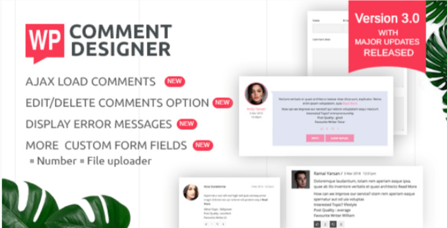 Wp comment designer