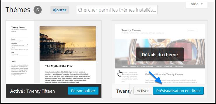 Qué hacer después de los cambios temáticos en WordPress? | BlogPasCher