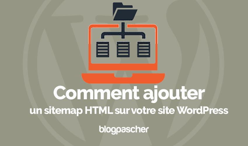 Comment Ajouter Sitemap Html Site Web Wordpress