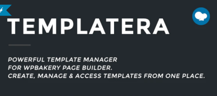 Templatera Template Manager for WPBakery Page Builder plugin wordpress