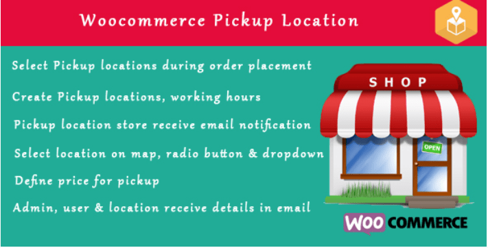 Woocommerce pickup locations local pickup wordpress plugin